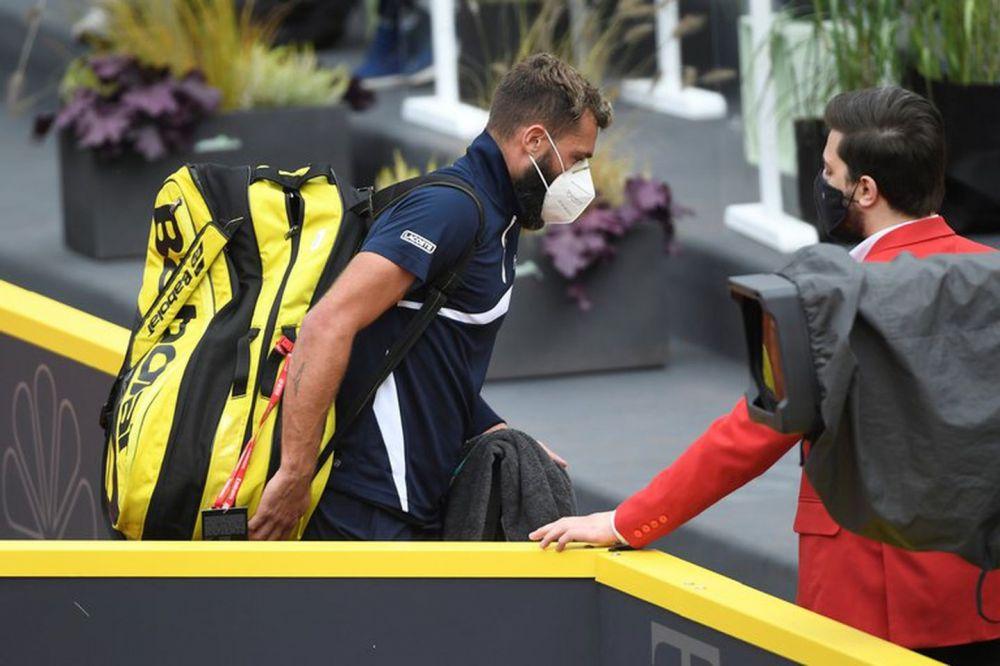 Escándalo en el tenis: un jugador confesó haber jugado con coronavirus