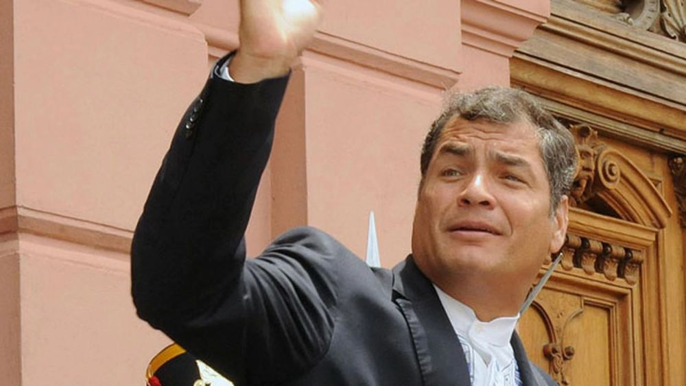 Ecuador: piden la captura de Rafael Correa, condenado por corrupción