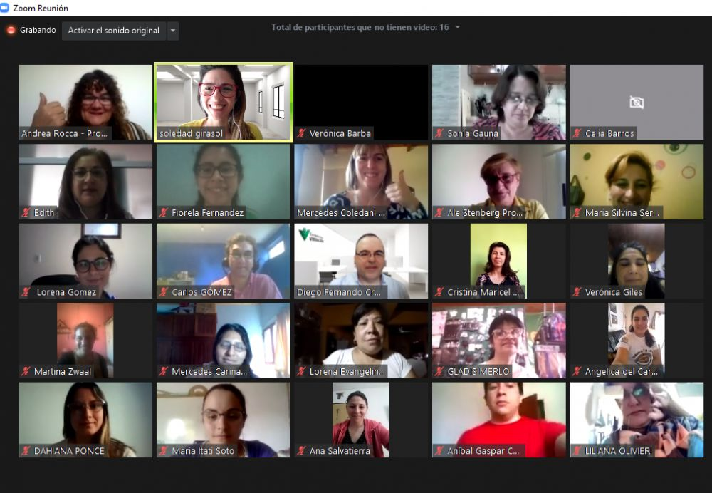Brindan capacitaciones sobre aprendizaje digital para docentes