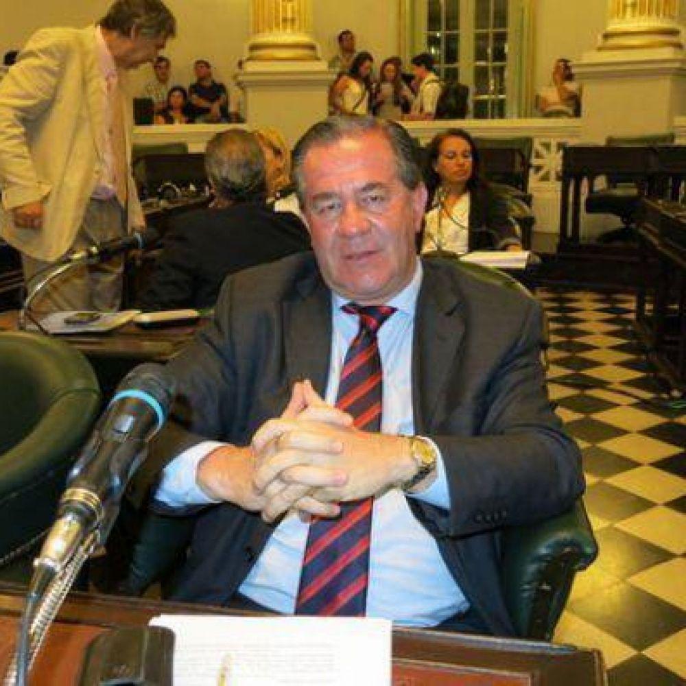El ex legislador Sussini se encuentra detenido en su domicilio