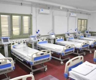 foto: Hay 66 pacientes internados en el Hospital de Campaña Escuela Hogar