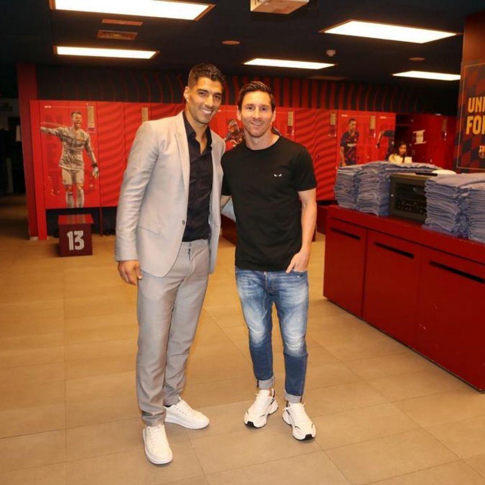 Lionel Messi estalló al despedirse de  Luis Suárez en Instagram