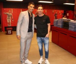 foto: Lionel Messi estalló al despedirse de  Luis Suárez en Instagram