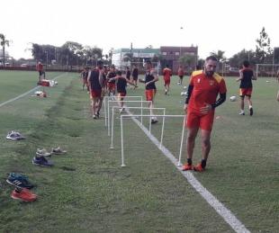 foto: Vuelta a los entrenamientos: