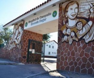 foto: Hay 59 pacientes internados en el Hospital de Campaña Escuela Hogar