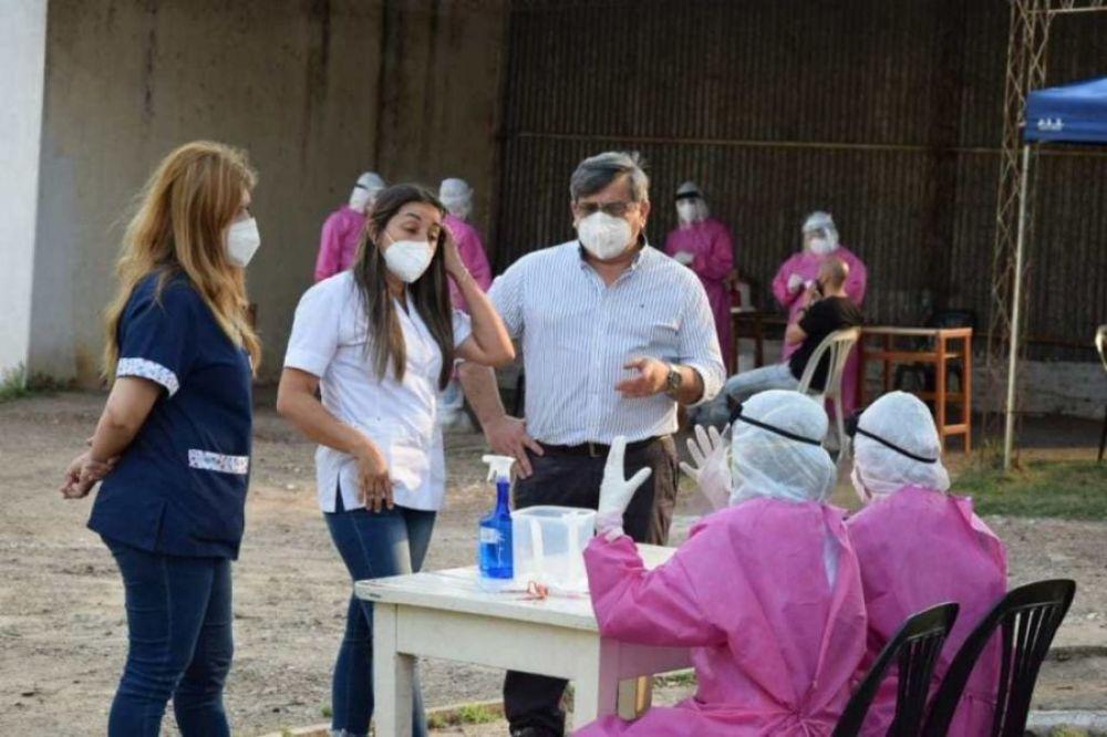 Monte Caseros: enviaron 81 nuevos hisopados para ser estudiados