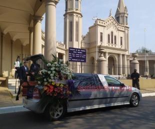 foto: Imágenes: Sentido último adiós a Ramona Galarza, la novia del Paraná