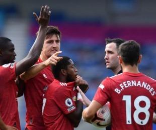 foto: Manchester United ganó con un penal cobrado cuando el partido terminó