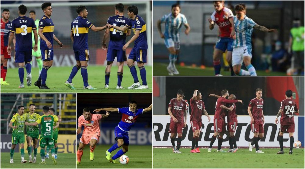 El fútbol argentino se pone en marcha con cinco amistosos
