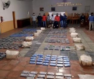 foto: Incautaron más de 380 kilos de cocaína en Rosario
