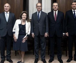 foto: Traslado de jueces: el martes la Corte definirá su intervención