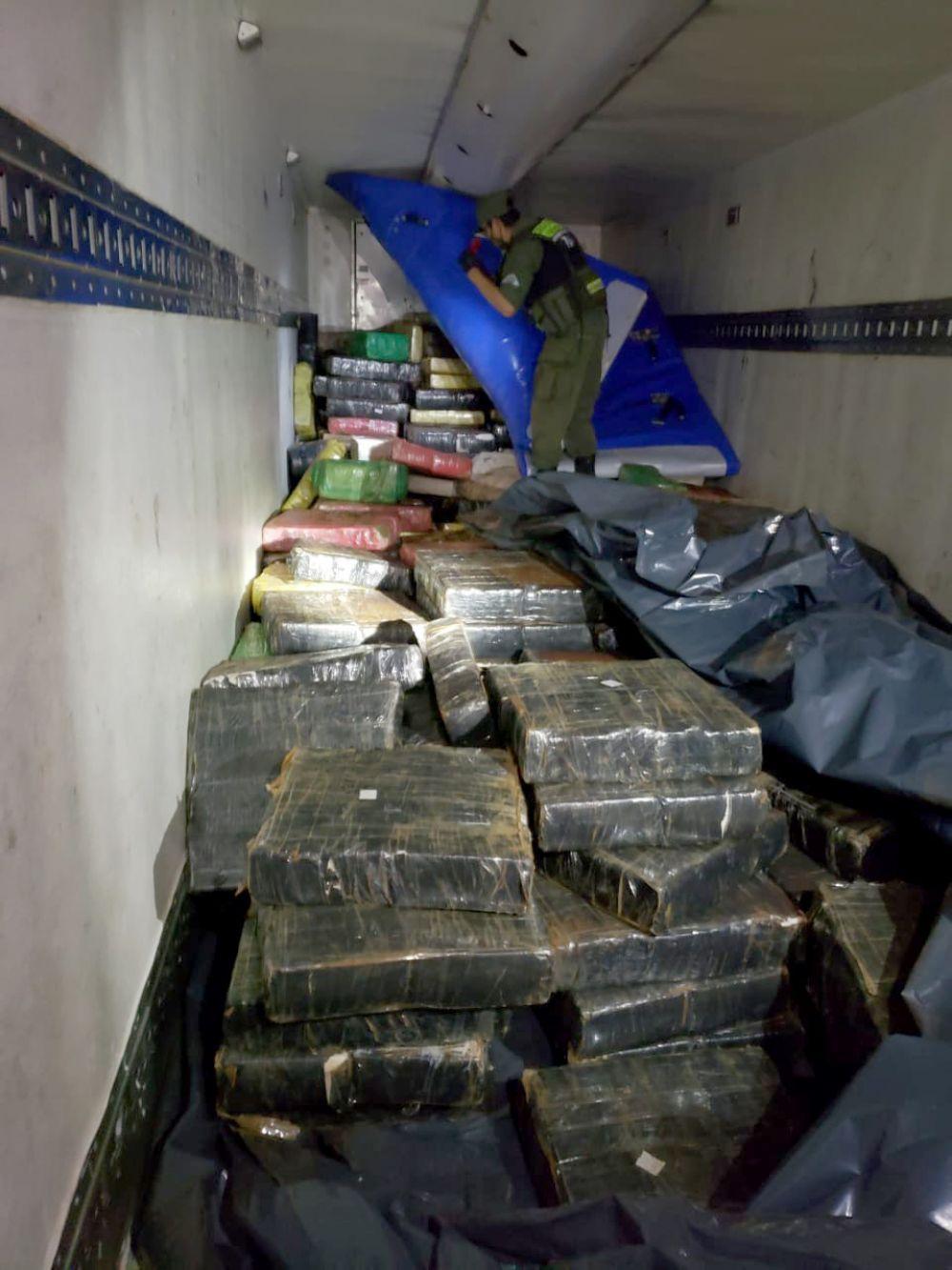 Misiones: secuestraron casi 10.000 kilos de marihuana en un operativo