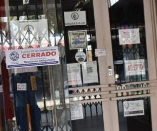 foto: Comercios estarán cerrados en toda la jornada de hoy