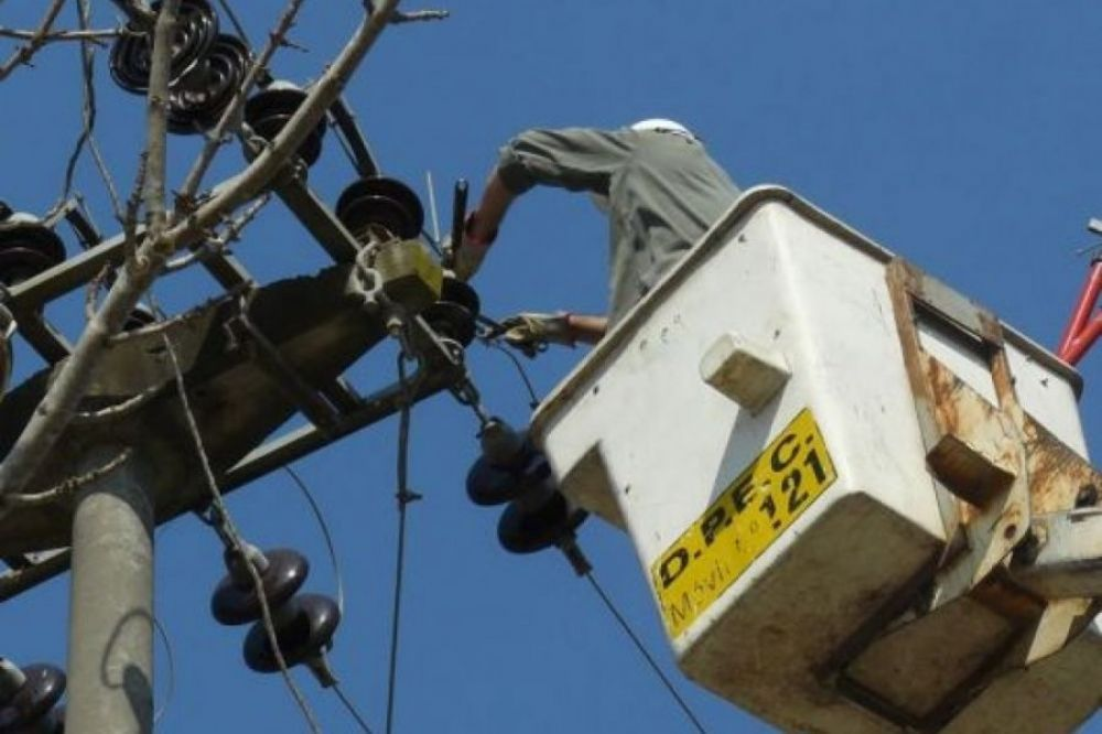 Hoy habrá cortes de energía en Capital y en varias localidades