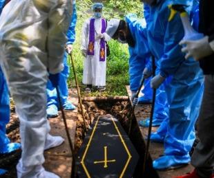foto: Se sobrepasó el millón de muertes por coronavirus en el mundo
