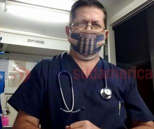 foto: Indignante robo a un enfermero: