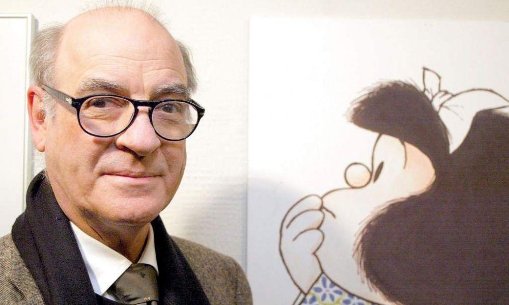 Murió Quino, el creador de la pequeña Mafalda