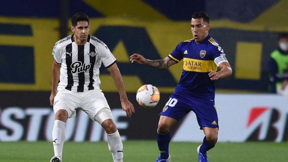 Boca empató y se metió en los octavos de la copa Libertadores