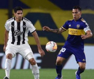 foto: Boca empató y se metió en los octavos de la copa Libertadores