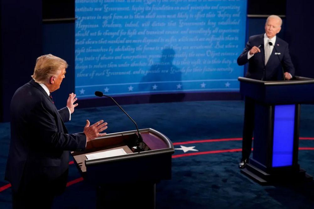 Debate: duros choques y ataques personales entre Trump y Biden