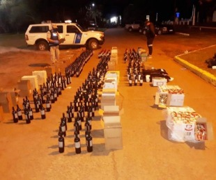 foto: Interceptaron carga ilegal antes de que fuera enviada a Brasil