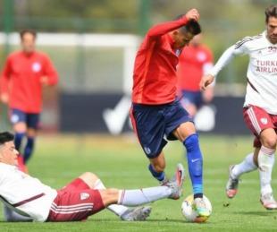 foto: Amistoso: River y San Lorenzo empataron 3 a 3 con un exBoca de figura
