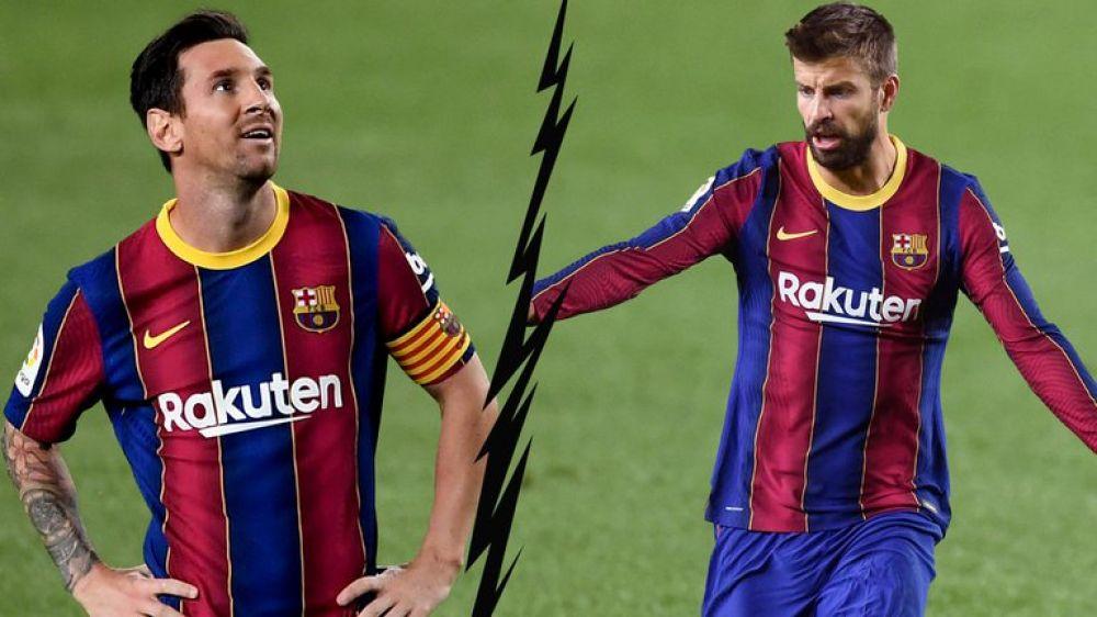 En España aseguran que Messi rompió relaciones con Gerard Pique