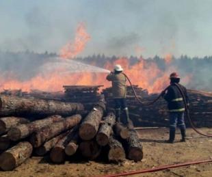 foto: Incendios en Santa Rosa: