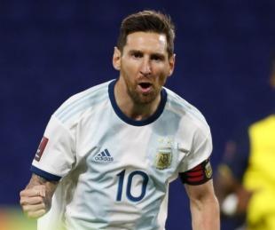 foto: Argentina superó a Ecuador en el debut en las Eliminatorias