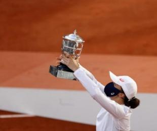 foto: Iga Swiatek derrotó a Sofia Kenin y es campeona del Roland Garros