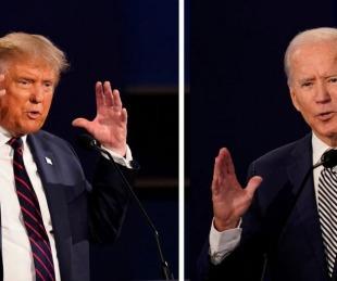 foto: Se canceló el segundo debate entre Donald Trump y Joe Biden