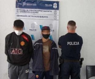foto: Los detuvieron por robarse cables del lugar donde estaba cumpliendo aislamiento