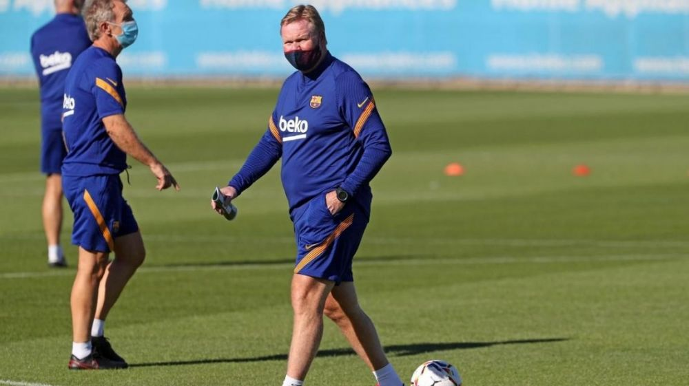 Ronald Koeman se lamentó por la salida de Luis Suárez de Barcelona