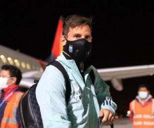 foto: Argentina ya está en La Paz, donde el martes se enfrentará a Bolivia