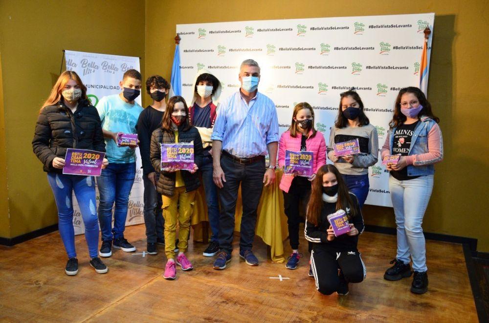 Bella Vista entregó premios del concurso Estudiantina Virtual 2020