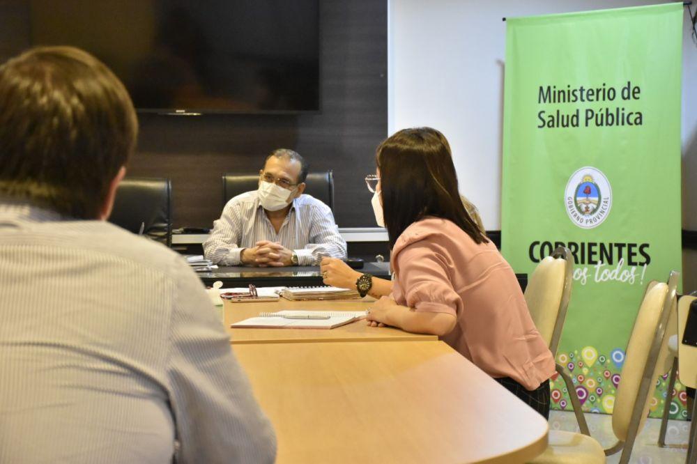 Cardozo coordinó el funcionamiento de las Redes de Especialidades