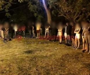 Desbarataron fiesta clandestina con un centenar de personas