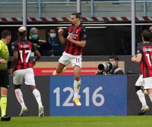 foto: Con dos goles de Ibrahimovic, Milan venció al Inter en la Serie A