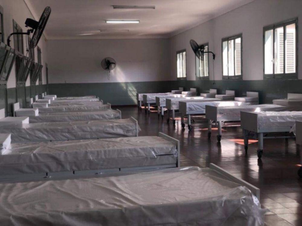 Hospital de Campaña: registran 47 pacientes internados con COVID-19