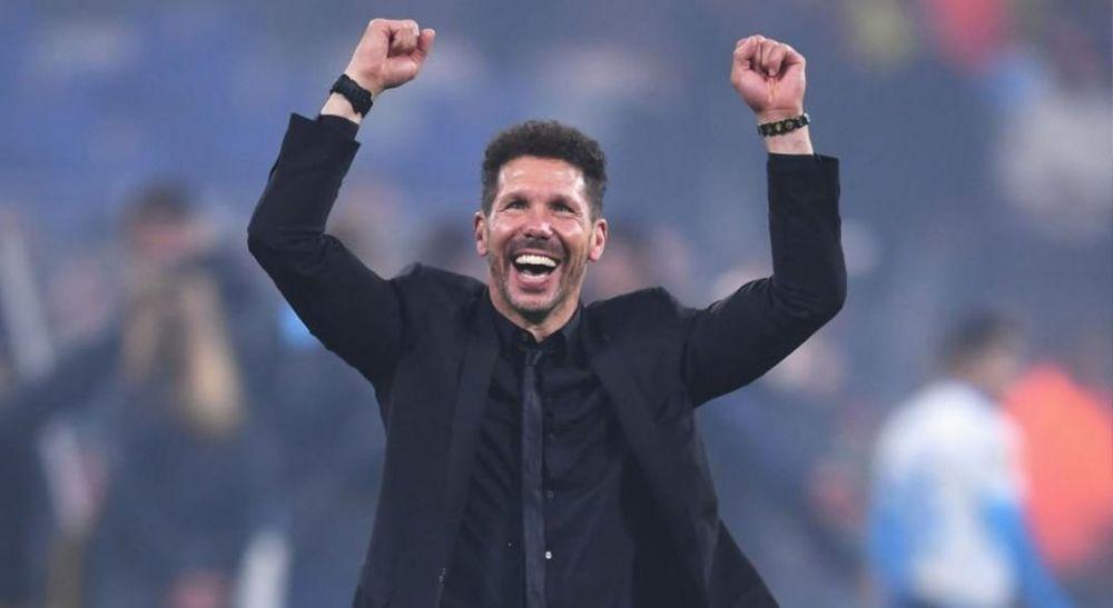 Atlético Madrid ganó y Simeone llegó a las 200 victorias en La Liga