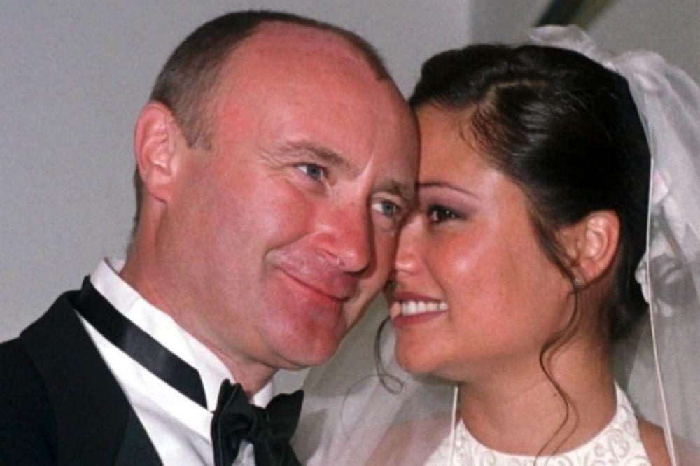 El dolor de Phil Collins: su esposa lo dejó por celular y se casó con otro músico