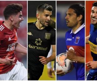 foto: Libertadores: a qué hora juegan los clubes argentinos en esta fecha