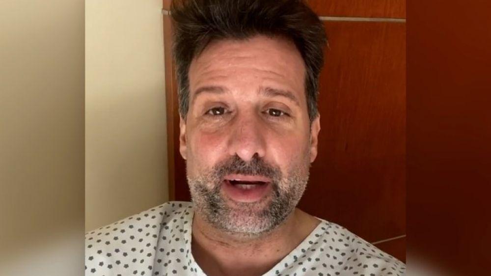 Internaron a José María Listorti por covid: Estoy con neumonía