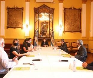 foto: Valdés viaja a Buenos Aires: sería por el Presupuesto nacional