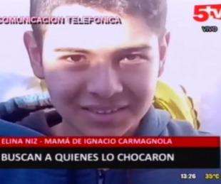 foto: Siguen buscando a quienes chocaron y abandonaron a un joven