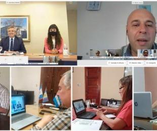 foto: Intendentes de Corrientes dialogaron con Alberto Fernández