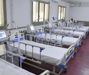 foto: Hospital de Campaña: hay 53 pacientes internados con COVID-19