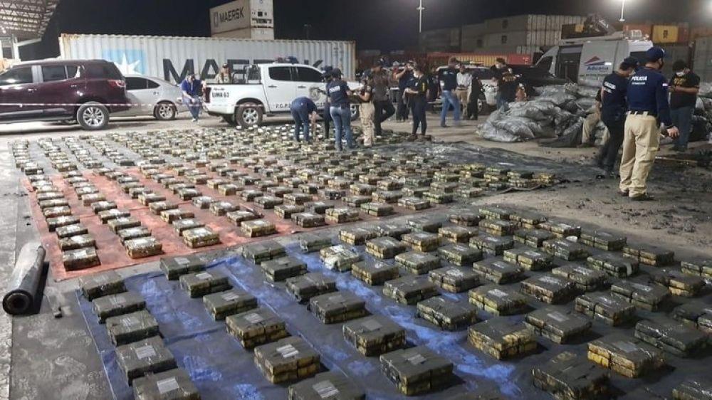 Paraguay hizo la mayor incautación de cocaína de toda su historia