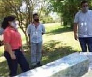 foto: Yapeyú: entregaron módulos alimentarios, colchones y camas