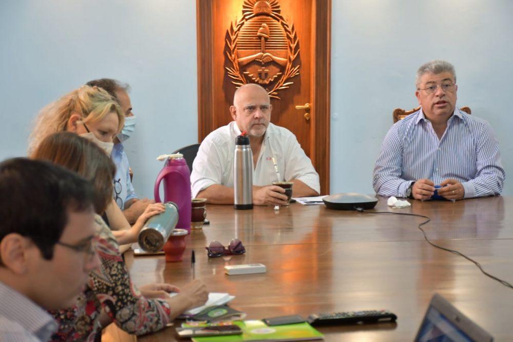 Vignolo y Ortega encabezaron reunión con municipios de Regiones 1 y 6